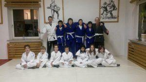 WU-SAO Jugend Brasil Jiu Jitsu Gruppe