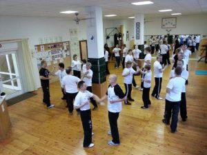 Training in der WU-SAO Kampfkunstschule Bremen