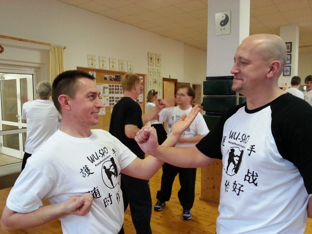 Wing Tzun Dan Chi Training